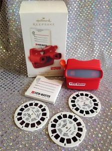 2008 HALLMARK ORNAMENT FISHER PRICE VIEW MASTER 3 TWAS THE NIGHT PICTURE REELS