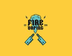 "Check out new work on my @Behance portfolio: ""Fire Vaping. Logo."" http://be.net/gallery/44846251/Fire-VapingLogo"