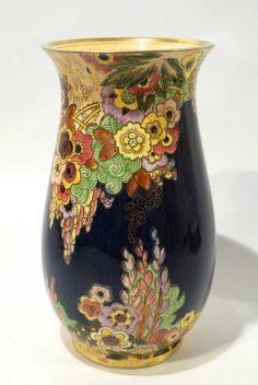 Stunning Vintage Art Deco Royal Winton Vase Circa 1930 | eBay