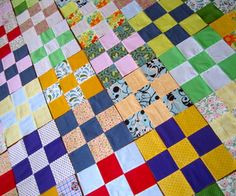'How To Sew A Quilt' from Instructables user-extraordinaire Jessyratfink.This is a really great tutorial for anyone starting out with quilting, check it out!