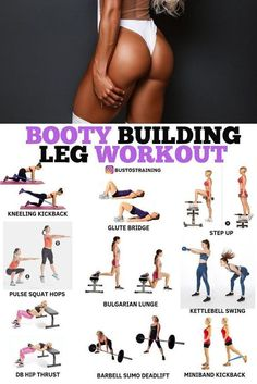 Home Fitness Bodybuilding - Booty Building Leg Workout! - Home Fitness Bodybuilding – Booty Building Leg Workout! Fitness Workouts, Leg Workouts For Men, Fitness Motivation, Fitness Workout For Women, Fitness Routines, Body Fitness, Fun Workouts, Leg Workout Women, Physical Fitness