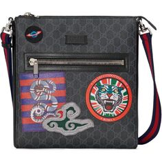 079180e62ed Gucci - Multicolor Night Courrier Umhängetasche aus GG Supreme for Men -  Lyst