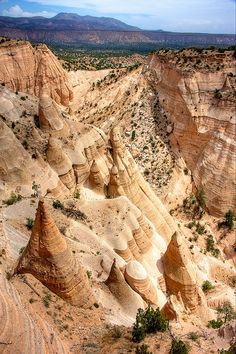 Tent Rocks outside Santa Fe, NM, USA. http://http://www.travel4corners.us/blog/category/new-mexico/
