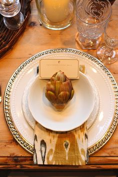Thanksgiving Place Setting Idea