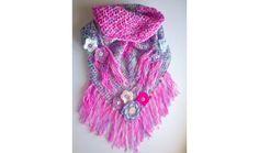 Wrap-around scarf/shawl