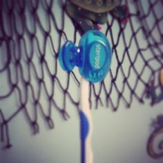 Don't get #tangled without a #steripod on your #toothbrush.  Keep it #protected with the pod.  @walmart @target @Bedbathandbeyond www.getsteripod.com