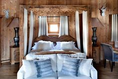 Nine wooden chalets and mazots (pasture huts) – all centuries-old – were dismantled and transported to Megève from other parts of Savoie by owners Jocelyne and Jean-Louis Sibuet in the 1980s to create this luxurious five-star retreat in the French Alps. Interiors are Alpine-chic, with ample winter-cosy nooks and crannies to lounge by candlelight, play chess or wooden noughts and crosses, browse antiquarian books or simply relax in front of the roaring fire and lose oneself in the authentic…
