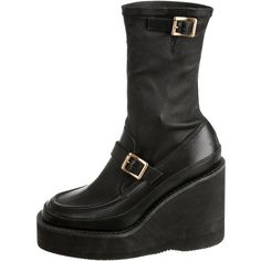 Cheap Sale 100% Original Free Shipping In China Pre-owned - Leather ankle boots sacai Discount Top Quality K9PESZH2T