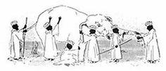 notizie:  L'elefante ed i saggi Un giorno, un re volle mett...