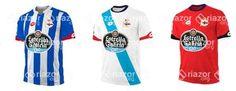 Filtradas las camisetas del Deportivo de la Coruña 2015/16