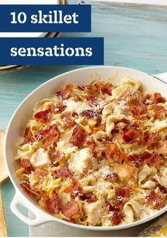 10 Skillet Sensations – With these one-pot wonders, you get to serve up a wonderful dish with just one pan and little to clean up. (That's sensational!)