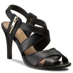 Sandały JENNY FAIRY - WYL070 Czarny