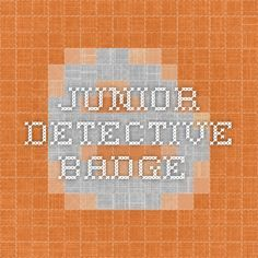 Junior detective badge handwriting analysis
