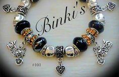 Harley Davidson jewelry bracelet Harley jewelry by Binkisbling, $55.00