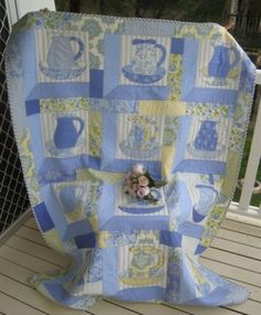 """Au Provence Quilt (66"""" X 50"""") by Judy Gray pattern $16.60Australian on Rose Patchwork Cottage at http://www.rosepatchwork.com/index.php?act=viewProd=599"""
