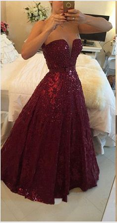Hot Saes Burgundy Lace Ball Gown Prom Dresses Backless Off the Shoulder Quinceanera Dress,Open Back Beaded Evening Gowns Quinceanera Dress