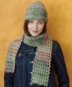 Chic Crochet Cloche & Scarf