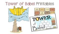 Tower of Babel Printables