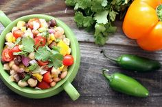 Fresh and spicy Bean Salad