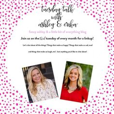 "Hey, y'all! Today, I am linking up with the sweetest girls,Ashley and Erika, for their  fun link-up ""Tuesday Talk!""   So, today,  we are talking family photos and p…"