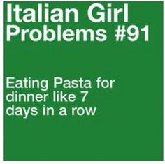Italian girl problems @Alexa Battisti