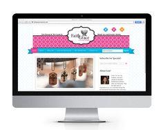 FaithGrace Creations website design and development created by The Savvy Socialista.