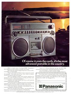 1979 UK Panasonic RX-5500 ad......................Please save this pin. .............................. Because for vintage collectibles - Click on the following link!.. http://www.ebay.com/usr/prestige_online