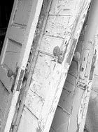 old doors...old windows...love them all...I need just one of these old doors for my entry way and laundry room.