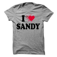 I love SANDY T-Shirts, Hoodies. CHECK PRICE ==► Funny Tee Shirts