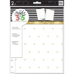 Create 365 Classic Snap-In Hard Cover Planner-White With Gold Dots Happy Planner Cover, Planner Covers, Create 365, Black Cover, Gold Dots, Room Organization, Shopping Hacks, Sewing Crafts, Craft Supplies