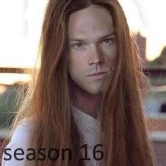 Season 16, Supernatural  haha so true if they don't cut his hair!!! @Kelsea kosko kosko kosko Sparks omg lol