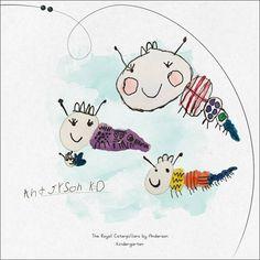 "Grandchildren's ArtBook - Anderson ""Royal Caterpillars"""