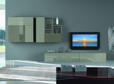 Italian Wall Unit 3D 01 by Artigian Mobili - $4,175.00
