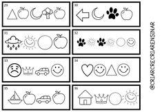 Criar Recriar Ensinar Education, Blog, Kids, Preschool Literacy Activities, Interactive Activities, Kids Learning Activities, Reading Games, Secret Code, Index Cards