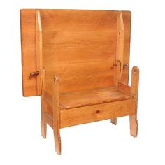 Incroyable 31: Pine And Oak Shoe Foot Hutch Table, Probably New En On | Pine, Tables  And Settees