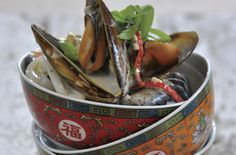 THAI MUSSEL SOUP POTJIE recipe - the perfect weekend meal!