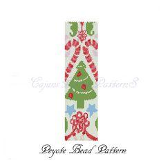 CHRISTMAS PARTY Peyote Bead Pattern-Beaded by CajunsDesignPatternS