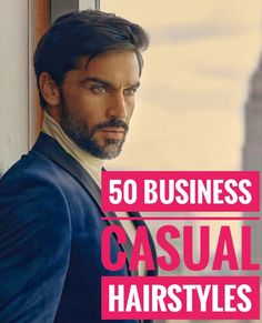 Express your personal style while staying classy & groomed with a business casual hairstyle, from French crops, to quiffs, combover hairstyles and more! Casual Hairstyles For Men, Business Casual Hairstyles, Mens Summer Hairstyles, Combover Hairstyles, Comb Over, Cool Haircuts, Personal Style, Hair Cuts, Hair Styles
