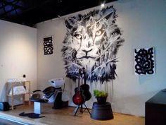 Obra para exposición y venta en Barbería Punto Norte. Monterrey, Nuevo León. Pintura acrílica sobre cartulina Fabriano de 210G.