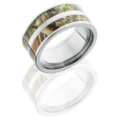 Double Barrel Realtree Camo Ring $269