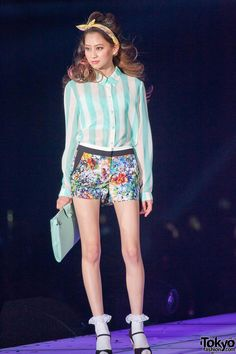 Bonica Dot at Tokyo Girls Collection TGC : SS 2013