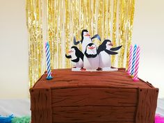 Penguins of Madagascar party