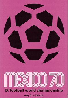 10 of our Favorite Vintage World Cup posters! #worldcup #soccer #posters
