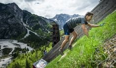 Video: The Steepest Race in Europe - Red Bull 400 Planica 2013. Don't attempt the day after leg day!