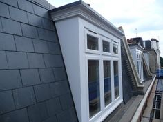 Love the detail mansard pattern slate roof with north for Mansard roof pros and cons