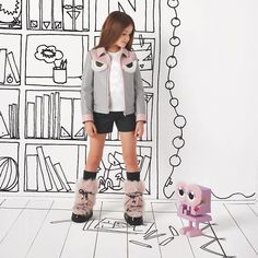 """FENDI KIDS, """"Artistic Intentions..... Imaginative and playful"""", pinned by Ton van der Veer"""