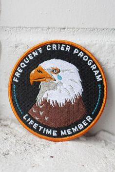 Due back on or around April 27th Do you cry while watching every movie - nay, every *trailer*? Do you cry when the phone rings? Do you cry over spilled milk? If so, this patch is definitely for you. 3