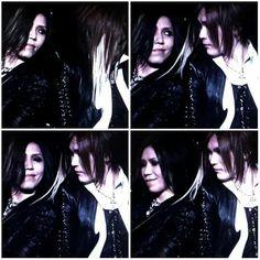 Aoi and Uruha. The GazettE