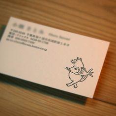 活版印刷で名刺を作りませんか?河童堂のイラストをお選びいただけます。配置などデザインは写真の通りです。画像をメール送信してご確認いただいてから10日前後で発送...|ハンドメイド、手作り、手仕事品の通販・販売・購入ならCreema。