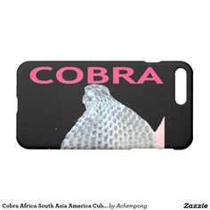 Cobra Africa South Asia America Cuba Cobra Snake iPhone 7 Plus Case #Beautiful #amazing #stuff and #products #sold on #Zazzle #iPhone7cases